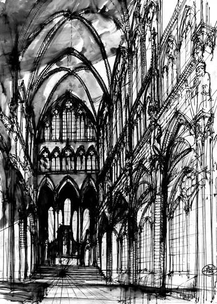wnętrze katedry wapw 1994