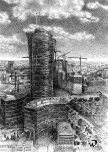 Rysunek architektury Wojciech Domińczak